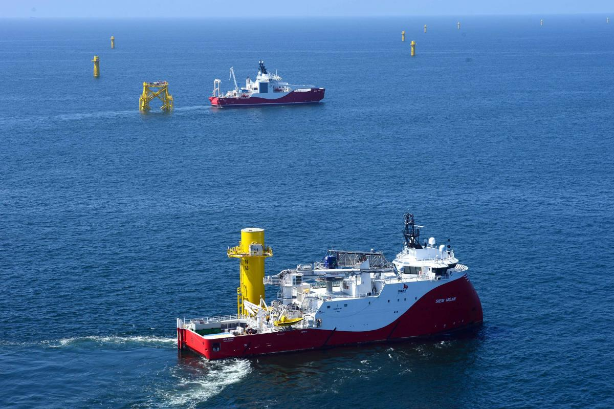 Cable laying works started at Nordsee One   Offshore Wind Industry