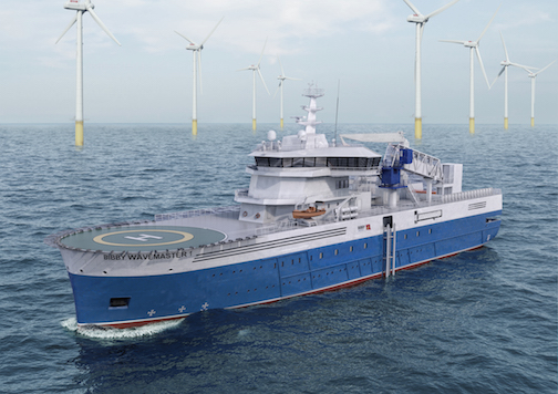 Bibby And Damen To Build Sov Offshore Wind Industry