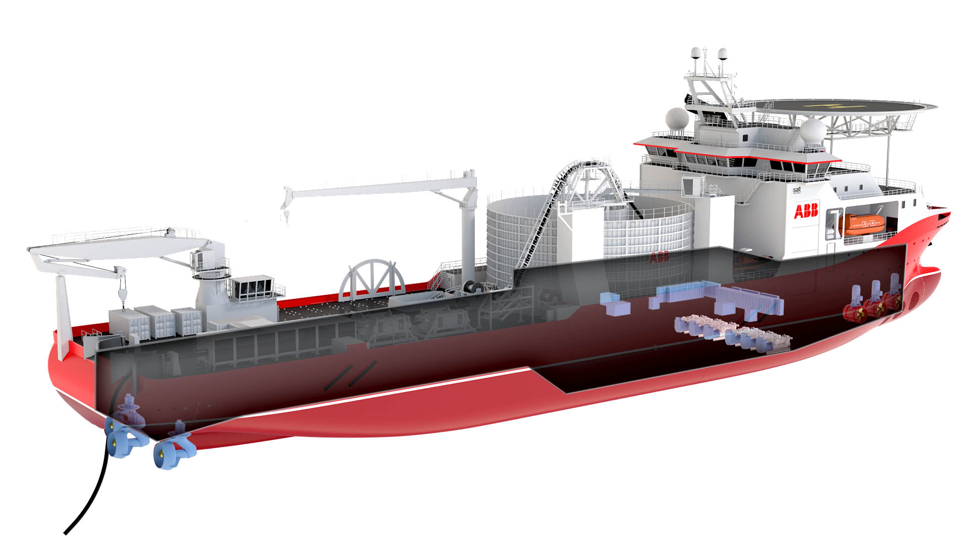 Abb Orders New Cable Laying Vessel Offshore Wind Industry