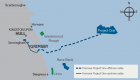 Hornsea Project One is located 120 km off the Yorkshire Coast. (Graphic: DONG Energy)