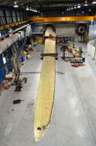 LM Wind Power's blade is undergoing tests at ORE Catapult's test facility (Photo: ORE Catapult)