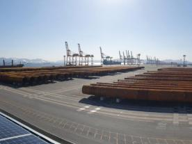 Pin Piles for Greater Changhua OWF at Gwangyang Port (pict. EEW GROUP)