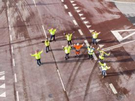 On Friday September 4th, Siemens Gamesa, MHI Vestas, Blue Water Shipping, the Dockers Union, and Port Esbjerg came together to celebrate the joint approach to road safety within the Port of Esbjerg.
