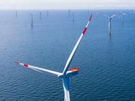 In 2017, 1,169 offshore wind turbines in German waters supplied over 18 TwH (Photo: EnBW)