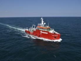 Fugro returns to Borssele Wind Farm Zone to conduct specialised UXO surveys for cable routes. (Photo: Fugro)