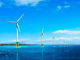 Southwest Offshore Windfarm Project will include twenty 3 MW wind turbines from Korean manufacturer Doosan. (Graphic: Doosan)