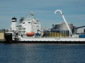 For the marine installation, Prysmian intends to use its own Cable Enterprise, a DP 2 vessel for cable laying activities. (Photo: Prysmian)