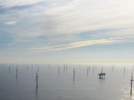 Meerwind has a total capacity of 288 MW and was one of the largest German offshore wind farms to achieve full financial closing. (Photo: WindMW GmbH)