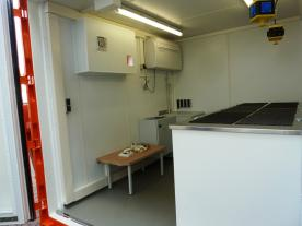 The container provides medicine & medical equipment to ensure EMS treatments in case of medical emergencies. All equipment fulfils the latest valid offshore and medical treatment area guidelines. (Photo: ELA Container)
