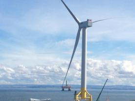 ORE Catapult has acquired the 7 MW demonstration offshore wind turbine at Levenmouth from Samsung Heavy Industries. (Photo: ORE Catapult)