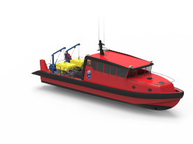 Tuco has designed two new vessels for ROV and diving work. (Graphic: Tuco)