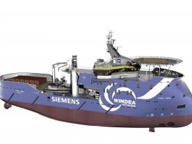 100 sold vessels in ten years – that's Ulstein's track record with the X-BOW. (Graphic: Ulstein)