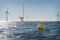 The Fraunhofer IWES LiDAR buoy will measure wind conditions in Chinese waters for the first time. (Photo: Fraunhofer IWES)