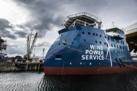 Ulstein's new service operation vessel will be working for Siemens and servicing the Gemini offshore wind park. (Photo: Ulstein Group/Marius Beck Dahle)