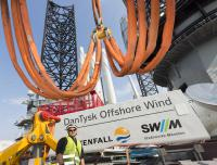 The 80th and final wind turbine at the offshore wind farm DanTysk has been installed.