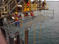 The QuikDeck system may also become a solution for offshore wind applications. (Photo: QuikDeck)