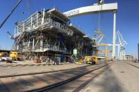 Navantia is manufacturing the topside of the offshore substation for Wikinger. (Photo: Iberdrola)