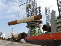 Steelwind will deliver the monopiles for 36 of the foundations at Borkum Riffgrund 2. (Photo: Steelwind Nordenham GmbH)