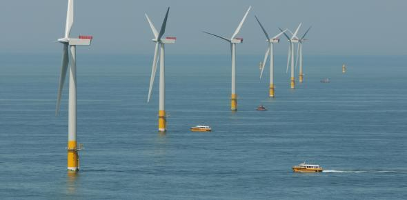The Galloper project will be located close to its existing sister project Greater Gabbard off the Suffolk coast. (Photo: RWE Innogy)