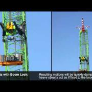 Test of Boom Lock System from High Wind